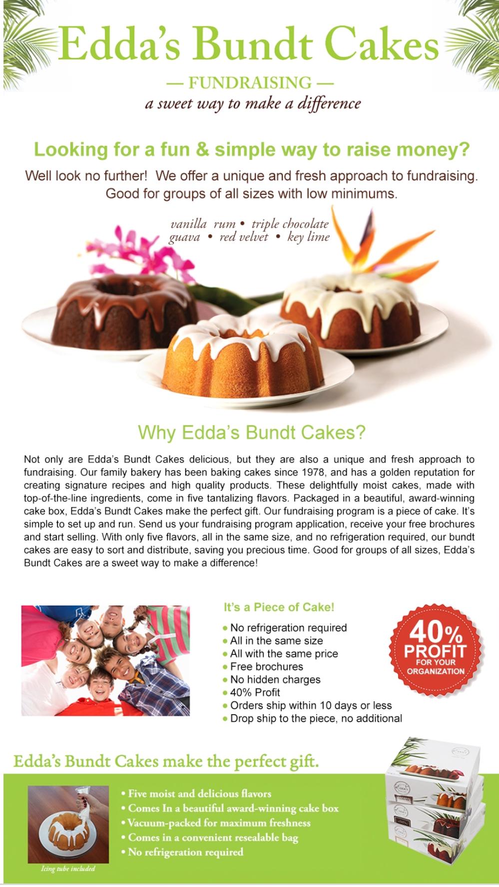 Eddas Bundt Cakes Publix